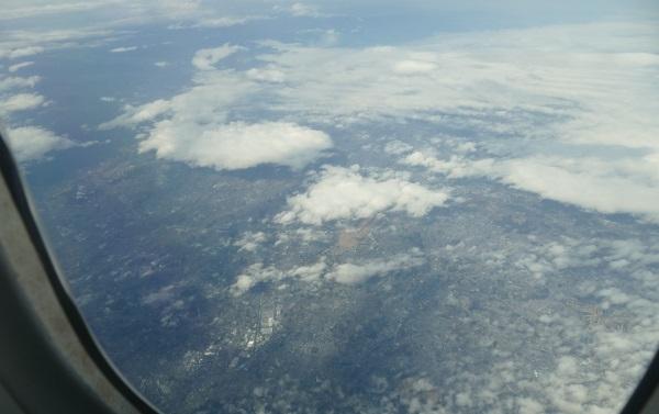 正午すぎにスクートTZ201便台北行きが離陸