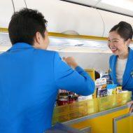 バニラエアの奄美大島発関西行きJW874便の初便のFA