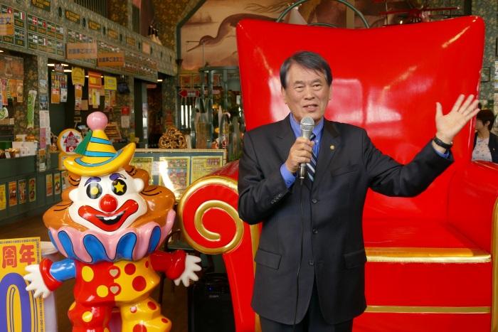 ラッキーピエログループ 王一郎 代表取締役社長