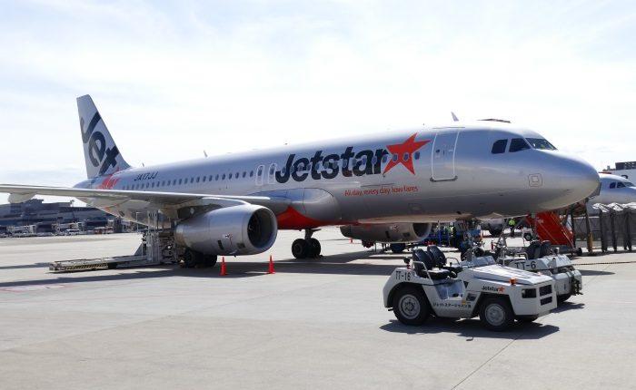 2017年8月に関西~那覇線を増便するジェットスター・ジャパンの機体