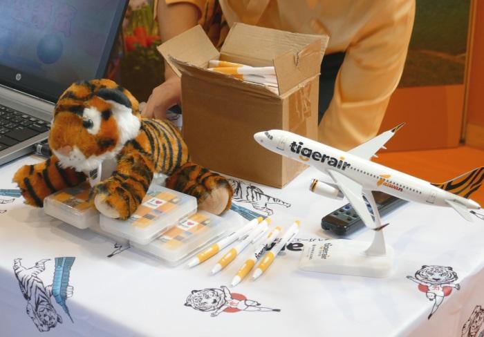 往復航空券のほか、タイガーエアグッズが当たる