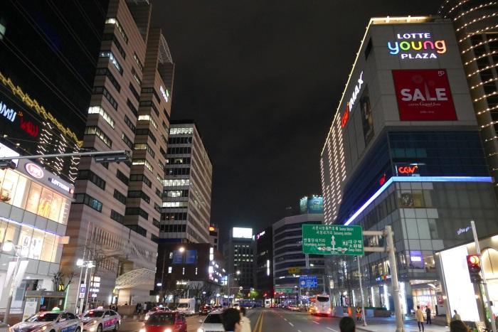 韓国・大邱の繁華街「東城路」(トンソンロ)
