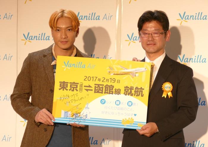 SWAYさんとバニラエアの五島勝也代表取締役社長