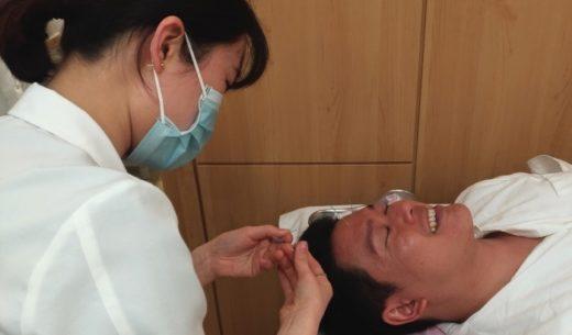 ティーウェイ航空が直行便を就航している韓国・大邱市の大邱韓医大付属大邱韓方病院 韓方医療体験センターで美容鍼を初体験