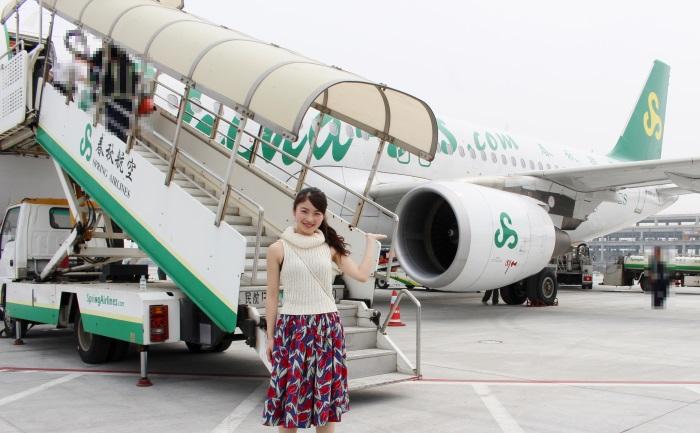 春秋航空で上海を旅したLCC STYLE旅ガール・小林ららさん