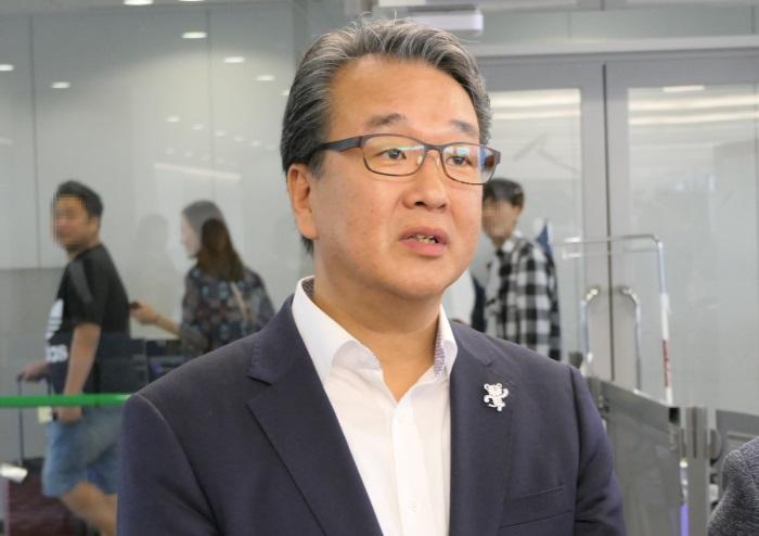 韓国観光公社 大阪支社 支社長の李丙賛氏