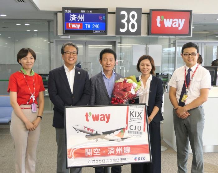 期待が集まるティーウェイ航空の関西~済州線
