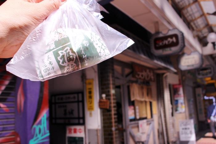 福住のフライケーキは1個80円(取材時)