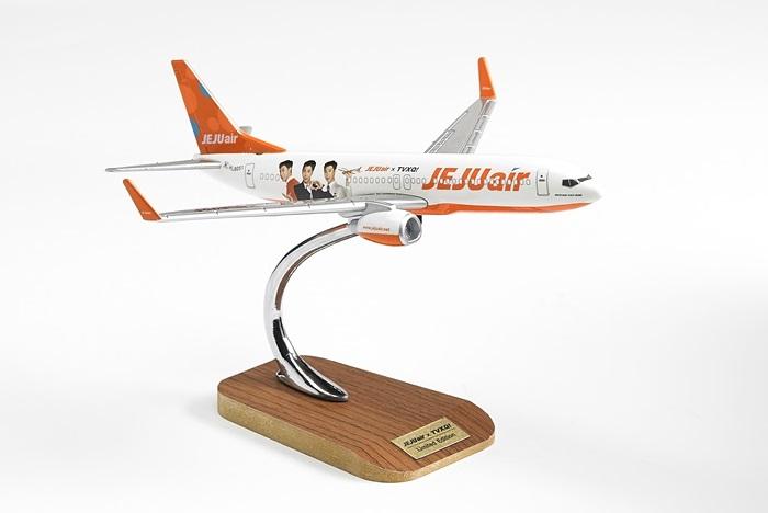 2017年8月1日から販売する「高級型ユノ模型飛行機」(7,000円・300個限定)