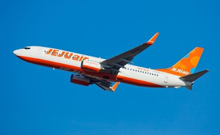 チェジュ航空が運航するボーイング737-800型機