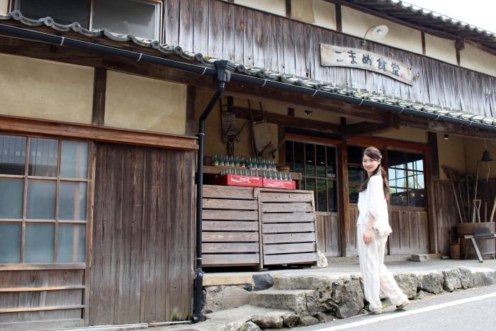 小豆島の中山地区にある「こまめ食堂」