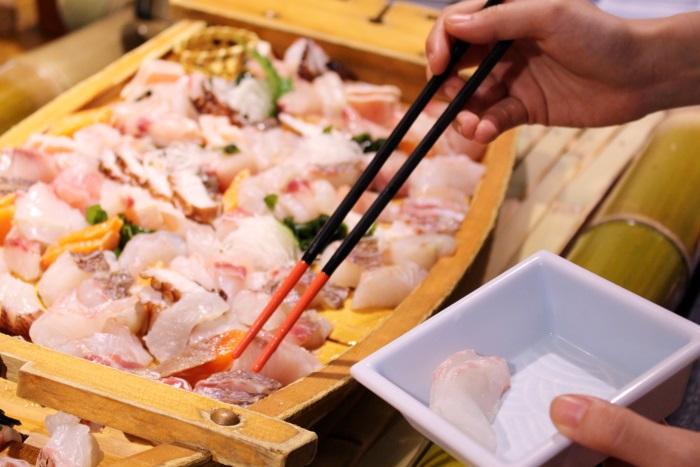 瀬戸内の旬の海鮮が食べ放題