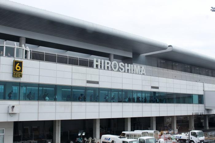 広島空港のターミナルビル
