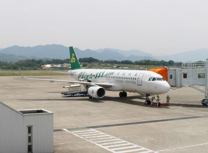 春秋航空のエアバスA320型機