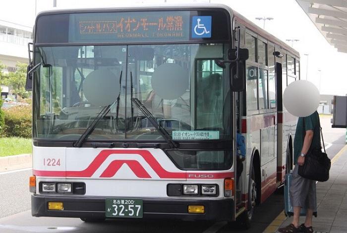 イオンモール常滑シャトルバス