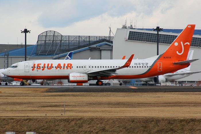 チェジュ航空のボーイング737-800