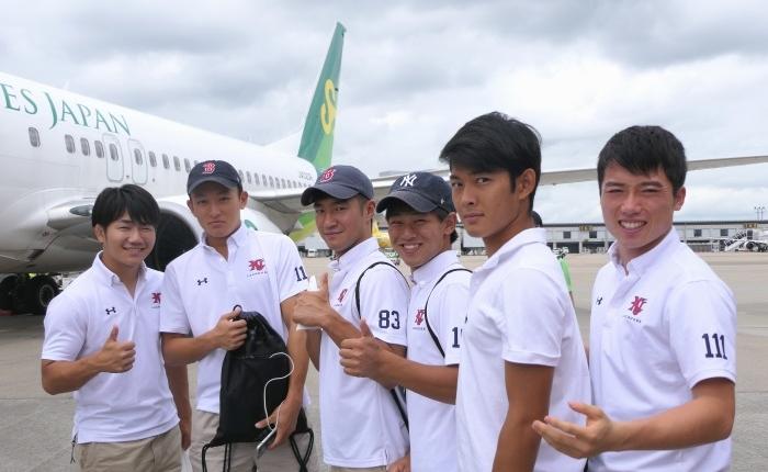 LCC春秋航空日本(Spring Japan)を使って初めて佐賀県で夏季合宿を行った慶應義塾體育會ラクロス部男子のみなさん