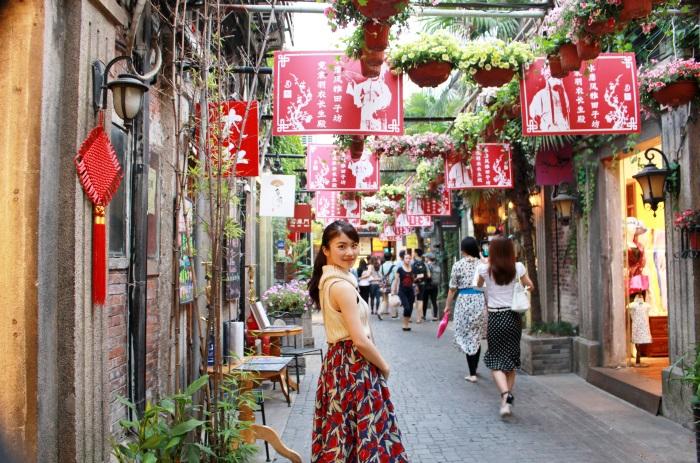 上海の若者の人気スポット「田子坊」