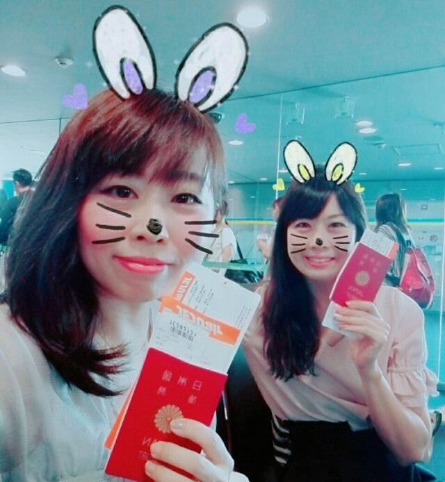 帰りもチェジュ航空で・大満足の韓国旅行に