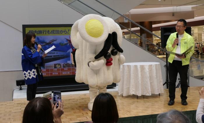 香川県のステージイベントには「さぬどん」が登場