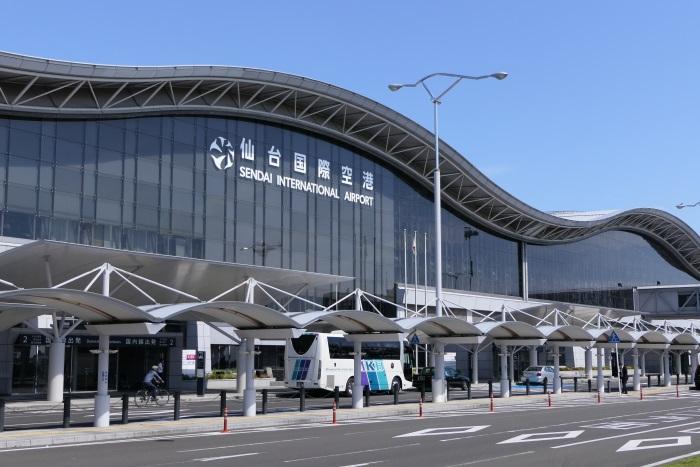 2016年7月に民営化した仙台空港のターミナルビル