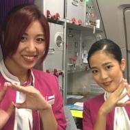 LCCピーチ・アビエーションの仙台発新千歳行きMM413便の初便のキャビンクルー