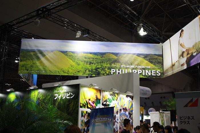 フィリピンの出展ブース