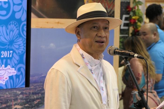マレーシア観光文化大臣 ダト・スリ・モハメド・ナズリ・アブドゥル・アジズ氏