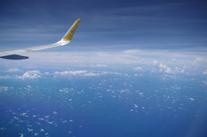 JW601便からの機窓