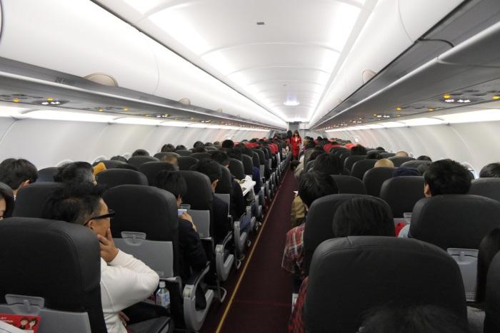 エアアジア・ジャパンの機内