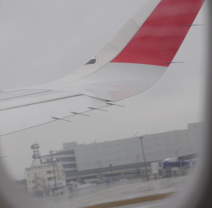 午前8時10分 エアアジア・ジャパンDJ001便新千歳行きの初便が中部空港を離陸