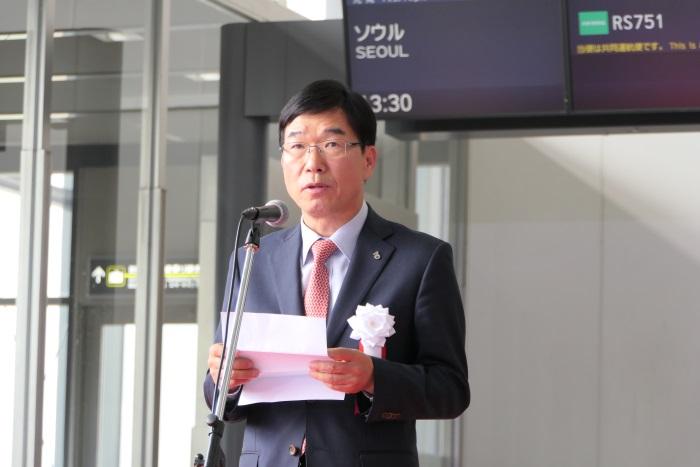エアソウル株式会社 代表取締役社長 柳光熙(リュ・グァンヒ)氏