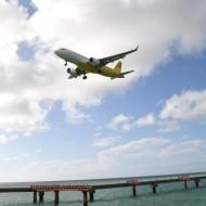 LCCバニラエアが沖縄県宮古島市の下地島空港での操縦士訓練の実機飛行を開始