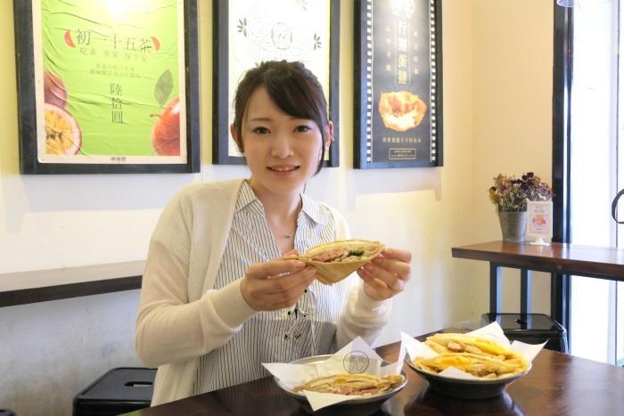 ホットサンド専門店「倆倆號」(Liang Liang Hao)で朝食