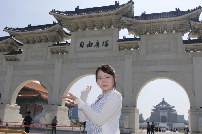 自由広場門と中正紀念堂