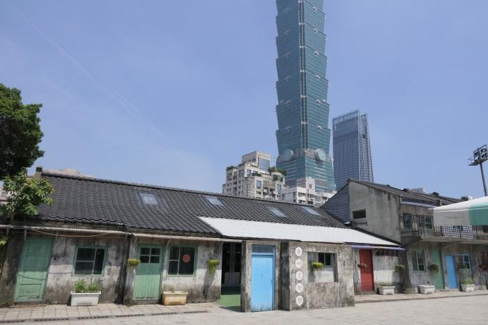 台北101のふもとにある「四四南村」