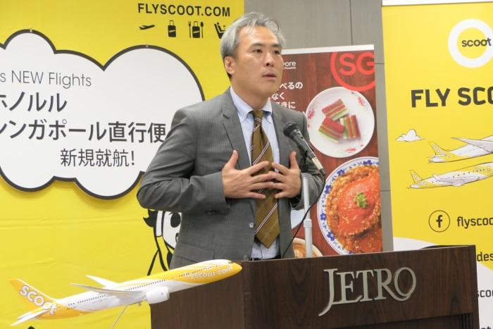 日本貿易振興機構(ジェトロ)対日投資部次長 高島大浩氏