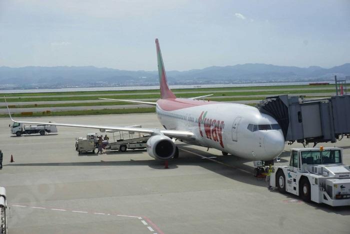 関西~グアム線を毎日運航するLCCティーウェイ航空