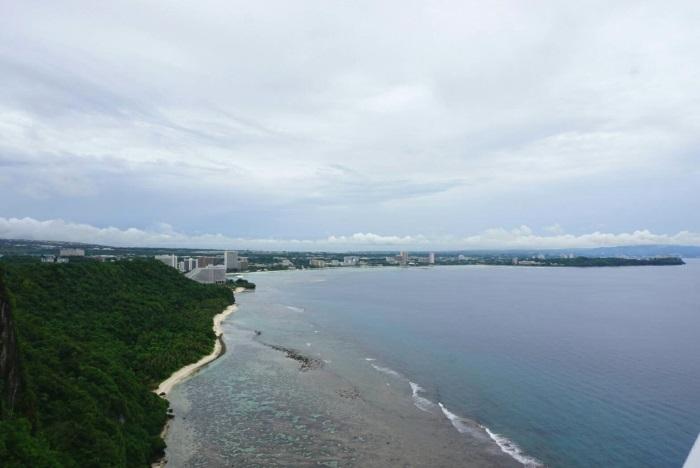 「恋人岬」からの眺め