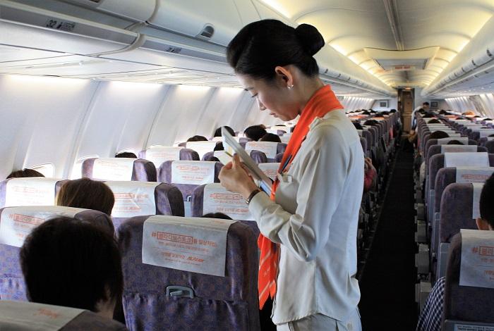 入国カードはフライト中に記入しておくと便利です