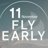 LCCエアプサンの2018年2月の航空券を安く販売する「FLY EARLY」セールの案内