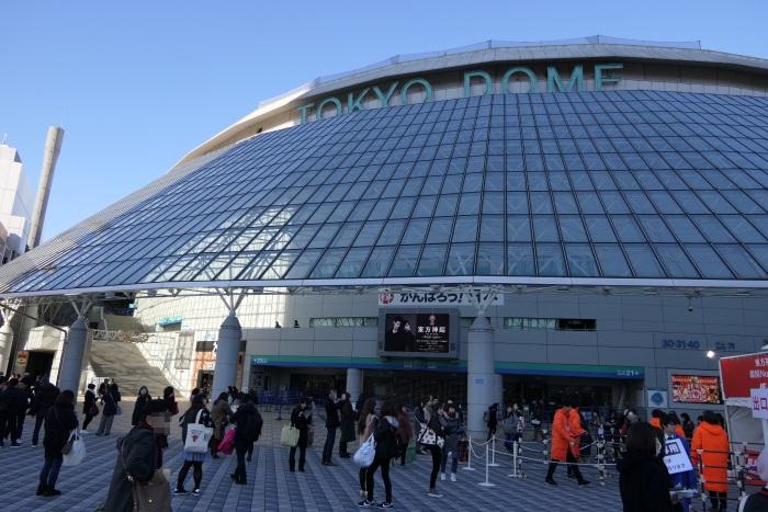 2017年11月25日(土)東京ドーム前にて