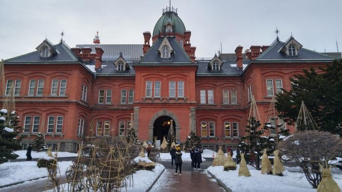 北海道庁の赤れんが庁舎(北海道庁旧本庁舎)