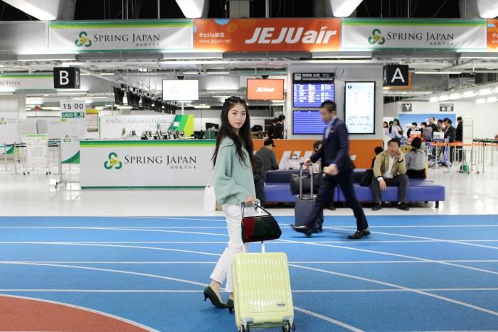成田空港第3ターミナルを使用するLCCチェジュ航空と春秋航空日本(Spring Japan)