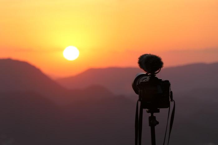 インターバル撮影(タイムラプス・微速度撮影)で日の出を撮影